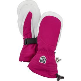 Hestra Heli Ski Guanti Donna, rosa/bianco
